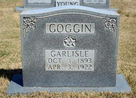 GOGGIN, GARLISLE - Searcy County, Arkansas | GARLISLE GOGGIN - Arkansas Gravestone Photos
