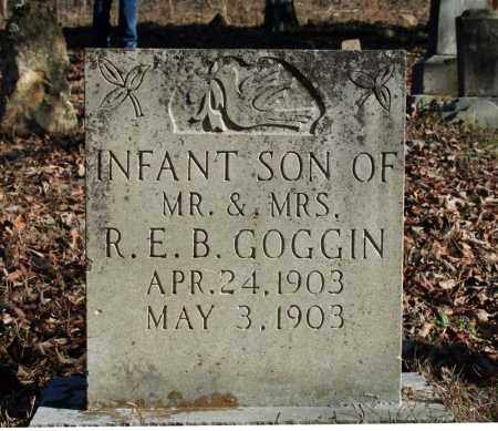 GOGGIN, INFANT SON - Searcy County, Arkansas   INFANT SON GOGGIN - Arkansas Gravestone Photos