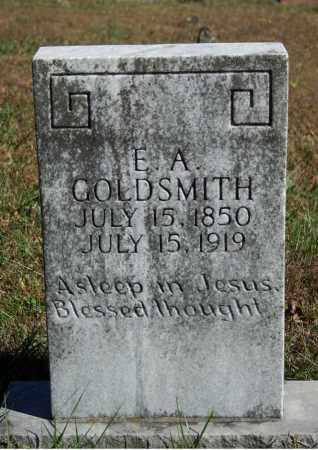 GOLDSMITH, E.A. - Searcy County, Arkansas | E.A. GOLDSMITH - Arkansas Gravestone Photos