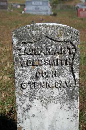 GOLDSMITH (VETERAN UNION), ZACHARIAH T - Searcy County, Arkansas | ZACHARIAH T GOLDSMITH (VETERAN UNION) - Arkansas Gravestone Photos