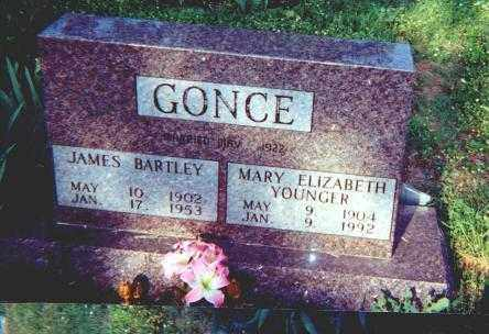GONCE, JAMES BARTLEY - Searcy County, Arkansas | JAMES BARTLEY GONCE - Arkansas Gravestone Photos