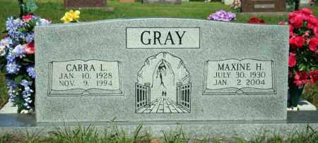 GRAY, MAXINE H. - Searcy County, Arkansas | MAXINE H. GRAY - Arkansas Gravestone Photos