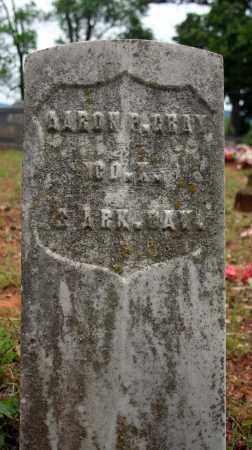 GRAY (VETERAN UNION), AARON P - Searcy County, Arkansas | AARON P GRAY (VETERAN UNION) - Arkansas Gravestone Photos