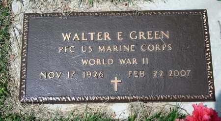 GREEN (VETERAN WWII), WALTER E - Searcy County, Arkansas | WALTER E GREEN (VETERAN WWII) - Arkansas Gravestone Photos