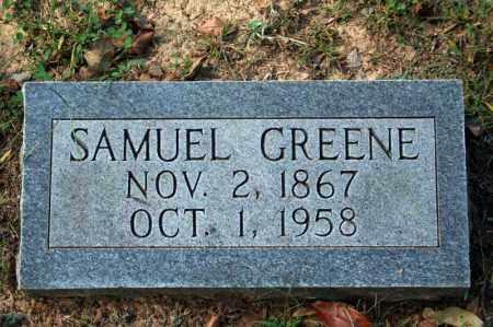 GREENE, SAMUEL - Searcy County, Arkansas   SAMUEL GREENE - Arkansas Gravestone Photos