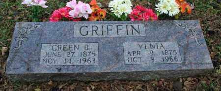 MCGUIRE GRIFFIN, VENIA - Searcy County, Arkansas | VENIA MCGUIRE GRIFFIN - Arkansas Gravestone Photos