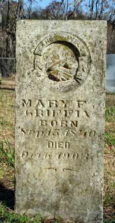GRIFFIN, MARY F. - Searcy County, Arkansas | MARY F. GRIFFIN - Arkansas Gravestone Photos