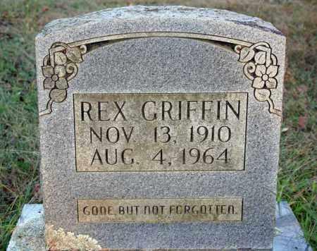 GRIFFIN, REX - Searcy County, Arkansas | REX GRIFFIN - Arkansas Gravestone Photos