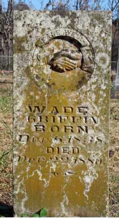 GRIFFIN, WADE - Searcy County, Arkansas   WADE GRIFFIN - Arkansas Gravestone Photos