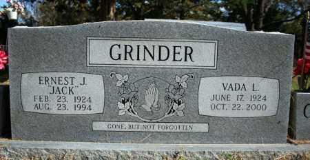 GRINDER, VADA L. - Searcy County, Arkansas | VADA L. GRINDER - Arkansas Gravestone Photos