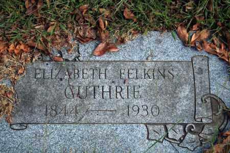 FELKINS GUTHRIE, ELIZABETH - Searcy County, Arkansas   ELIZABETH FELKINS GUTHRIE - Arkansas Gravestone Photos