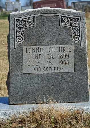 GUTHRIE, LONNIE - Searcy County, Arkansas | LONNIE GUTHRIE - Arkansas Gravestone Photos