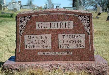 GUTHRIE, THOMAS LAWSON - Searcy County, Arkansas | THOMAS LAWSON GUTHRIE - Arkansas Gravestone Photos