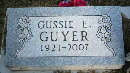 GUYER, GUSSIE E. - Searcy County, Arkansas | GUSSIE E. GUYER - Arkansas Gravestone Photos