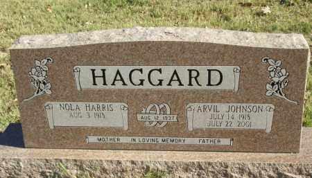 HAGGARD, ARVIL JOHNSON - Searcy County, Arkansas   ARVIL JOHNSON HAGGARD - Arkansas Gravestone Photos