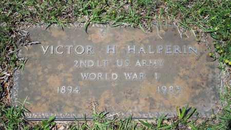 HALPERIN (VETERAN WWI), VICTOR H - Searcy County, Arkansas | VICTOR H HALPERIN (VETERAN WWI) - Arkansas Gravestone Photos