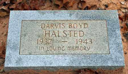 HALSTED, DARVIS BOYD - Searcy County, Arkansas | DARVIS BOYD HALSTED - Arkansas Gravestone Photos