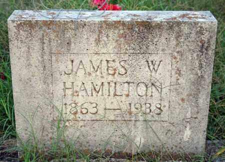 HAMILTON, JAMES W. - Searcy County, Arkansas | JAMES W. HAMILTON - Arkansas Gravestone Photos