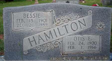 HAMILTON, OTIS E. - Searcy County, Arkansas   OTIS E. HAMILTON - Arkansas Gravestone Photos