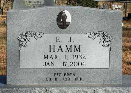 HAMM, E.J. - Searcy County, Arkansas | E.J. HAMM - Arkansas Gravestone Photos