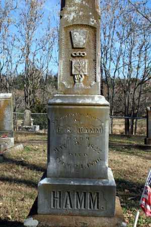 HAMM, E. S. - Searcy County, Arkansas | E. S. HAMM - Arkansas Gravestone Photos