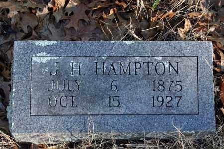 HAMPTON, J.H. - Searcy County, Arkansas | J.H. HAMPTON - Arkansas Gravestone Photos