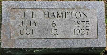 HAMPTON, JOSEPH HENRY - Searcy County, Arkansas | JOSEPH HENRY HAMPTON - Arkansas Gravestone Photos