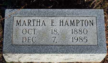 HAMPTON, MARTHA ELIZABETH (WILLIAMS) - Searcy County, Arkansas | MARTHA ELIZABETH (WILLIAMS) HAMPTON - Arkansas Gravestone Photos