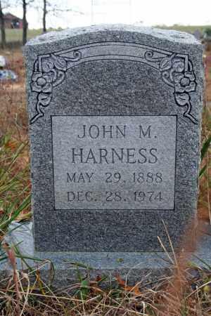 HARNESS, JOHN M. - Searcy County, Arkansas   JOHN M. HARNESS - Arkansas Gravestone Photos