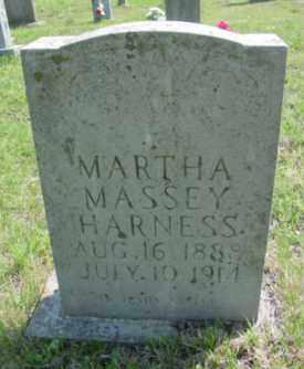 MASSEY HARNESS, MARTHA P - Searcy County, Arkansas   MARTHA P MASSEY HARNESS - Arkansas Gravestone Photos