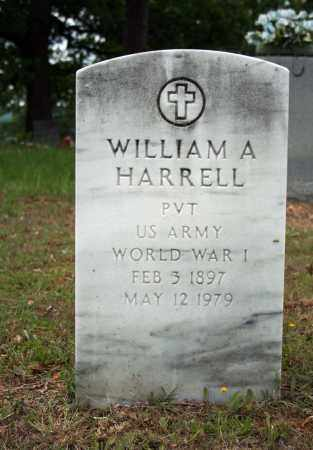HARRELL (VETERAN WWI), WILLIAM A - Searcy County, Arkansas | WILLIAM A HARRELL (VETERAN WWI) - Arkansas Gravestone Photos