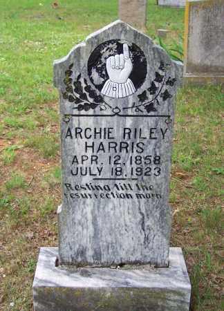 HARRIS, ARCHIE RILEY - Searcy County, Arkansas   ARCHIE RILEY HARRIS - Arkansas Gravestone Photos