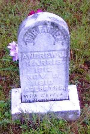 HARRIS, ANDREW J. - Searcy County, Arkansas | ANDREW J. HARRIS - Arkansas Gravestone Photos