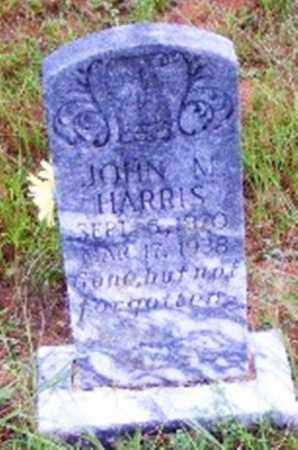 HARRIS, JOHN M. - Searcy County, Arkansas | JOHN M. HARRIS - Arkansas Gravestone Photos