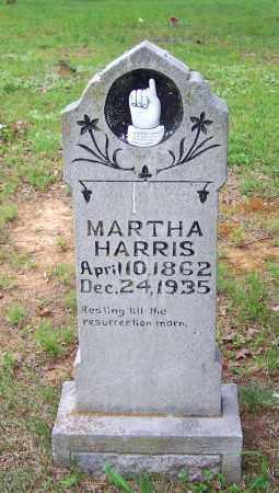 HARRIS, MARTHA - Searcy County, Arkansas | MARTHA HARRIS - Arkansas Gravestone Photos