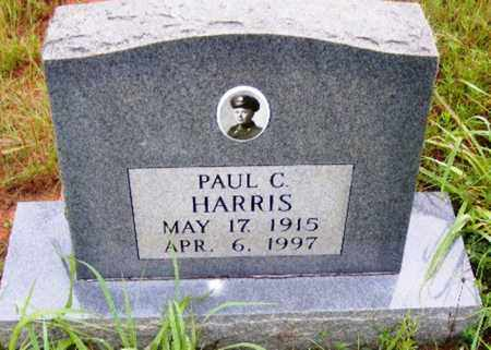 HARRIS, PAUL C. - Searcy County, Arkansas | PAUL C. HARRIS - Arkansas Gravestone Photos
