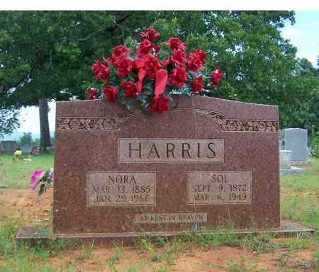 HARRIS, NORA - Searcy County, Arkansas | NORA HARRIS - Arkansas Gravestone Photos