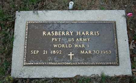 HARRIS (VETERAN WWI), RASBERRY - Searcy County, Arkansas   RASBERRY HARRIS (VETERAN WWI) - Arkansas Gravestone Photos