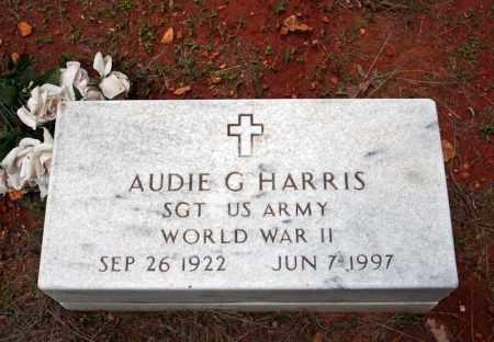 HARRIS (VETERAN WWII), AUDIE G - Searcy County, Arkansas | AUDIE G HARRIS (VETERAN WWII) - Arkansas Gravestone Photos