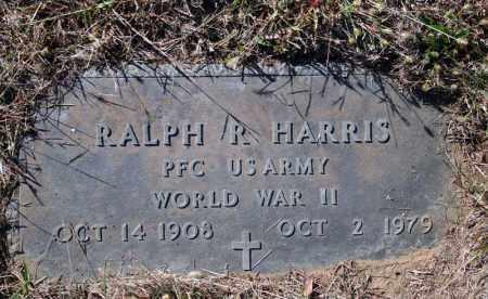 HARRIS (VETERAN WWII), RALPH R - Searcy County, Arkansas   RALPH R HARRIS (VETERAN WWII) - Arkansas Gravestone Photos