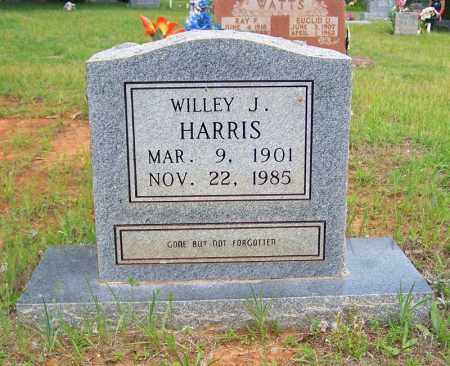HARRIS, WILLEY J. - Searcy County, Arkansas   WILLEY J. HARRIS - Arkansas Gravestone Photos