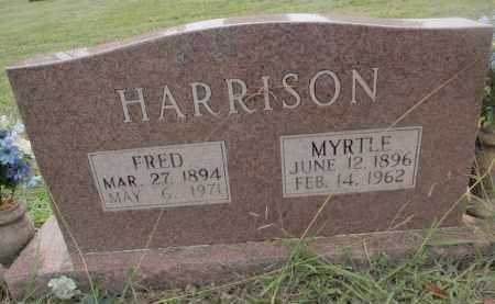 HARRISON, MYRTLE - Searcy County, Arkansas | MYRTLE HARRISON - Arkansas Gravestone Photos