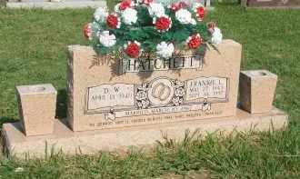 HATCHETT, FRANKIE L. - Searcy County, Arkansas | FRANKIE L. HATCHETT - Arkansas Gravestone Photos