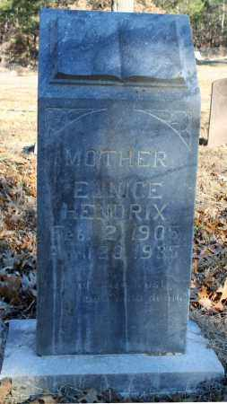 HENDRIX, EUNICE - Searcy County, Arkansas | EUNICE HENDRIX - Arkansas Gravestone Photos
