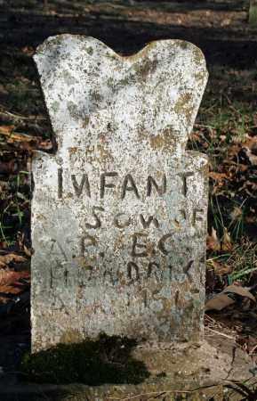 HENDRIX, INFANT SON - Searcy County, Arkansas | INFANT SON HENDRIX - Arkansas Gravestone Photos