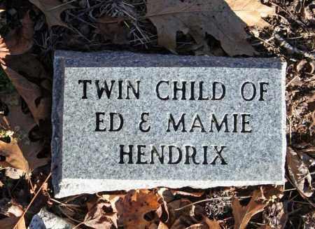 HENDRIX, INFANT TWIN 2 - Searcy County, Arkansas | INFANT TWIN 2 HENDRIX - Arkansas Gravestone Photos