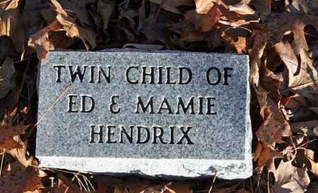 HENDRIX, INFANT TWIN 3 - Searcy County, Arkansas | INFANT TWIN 3 HENDRIX - Arkansas Gravestone Photos
