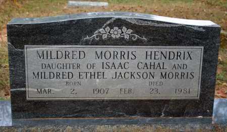 MORRIS HENDRIX, MILDRED - Searcy County, Arkansas | MILDRED MORRIS HENDRIX - Arkansas Gravestone Photos