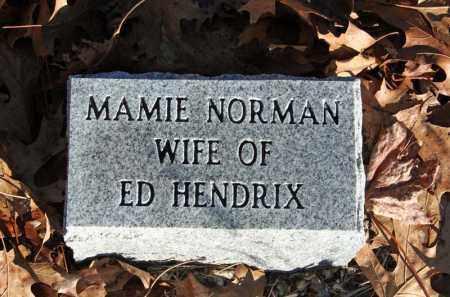 HENDRIX, MAMIE - Searcy County, Arkansas | MAMIE HENDRIX - Arkansas Gravestone Photos