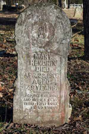 HENDRIX, MARY - Searcy County, Arkansas | MARY HENDRIX - Arkansas Gravestone Photos